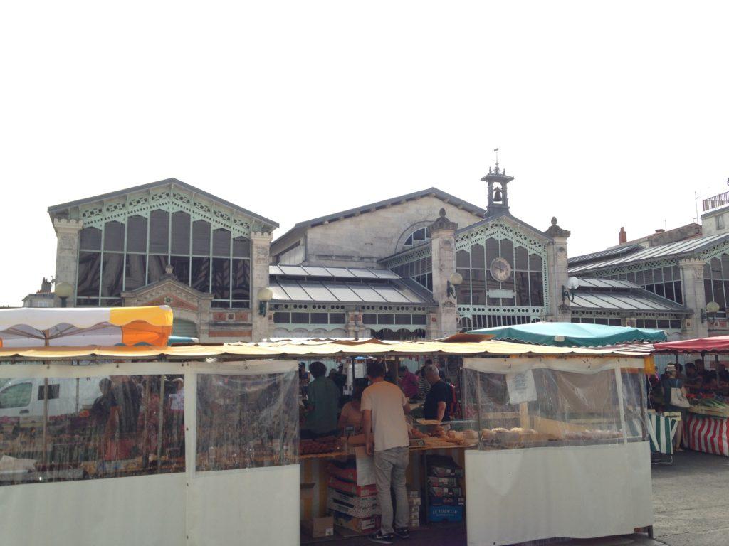 Marché La Rochelle blog voyage les p'tits touristes