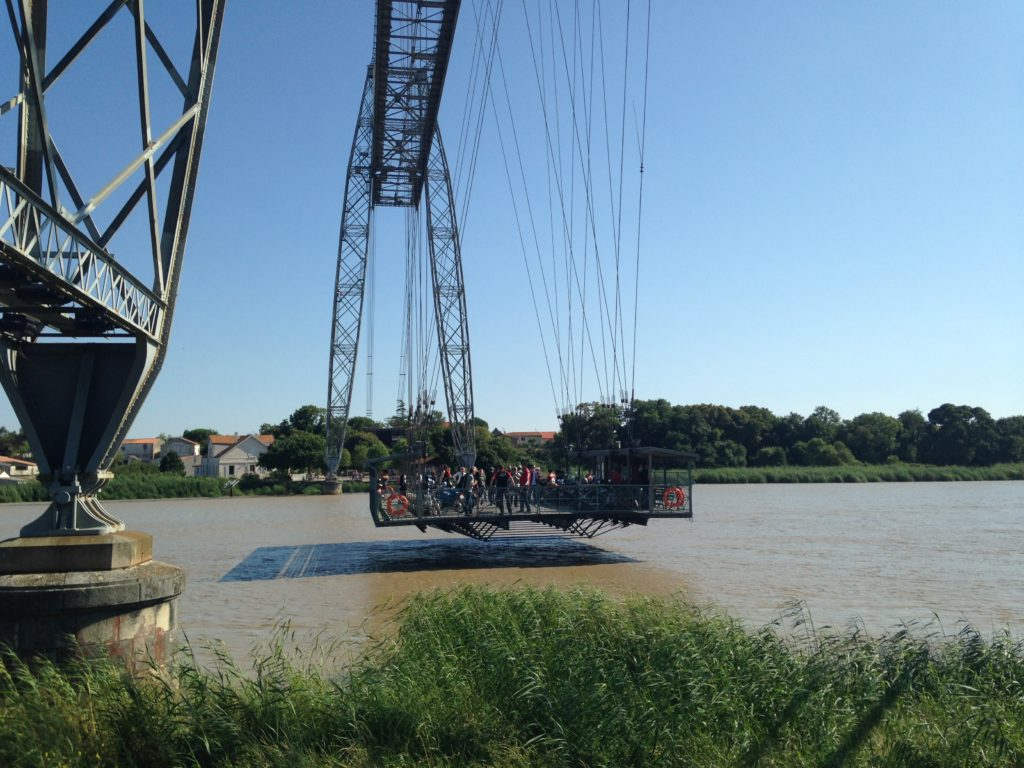 Pont Transbordeur Matrou Rochefort les p'tits touristes blog voyage