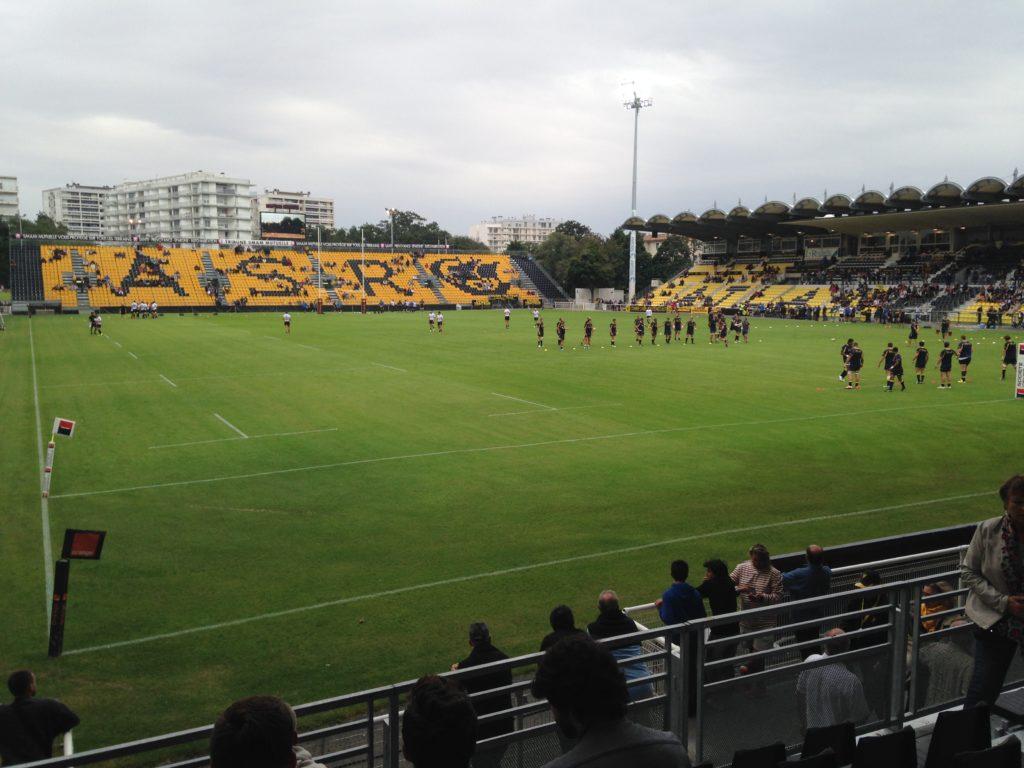 Stade Marcel Deflandre La Rochelle blog voyage les p'tits touristes
