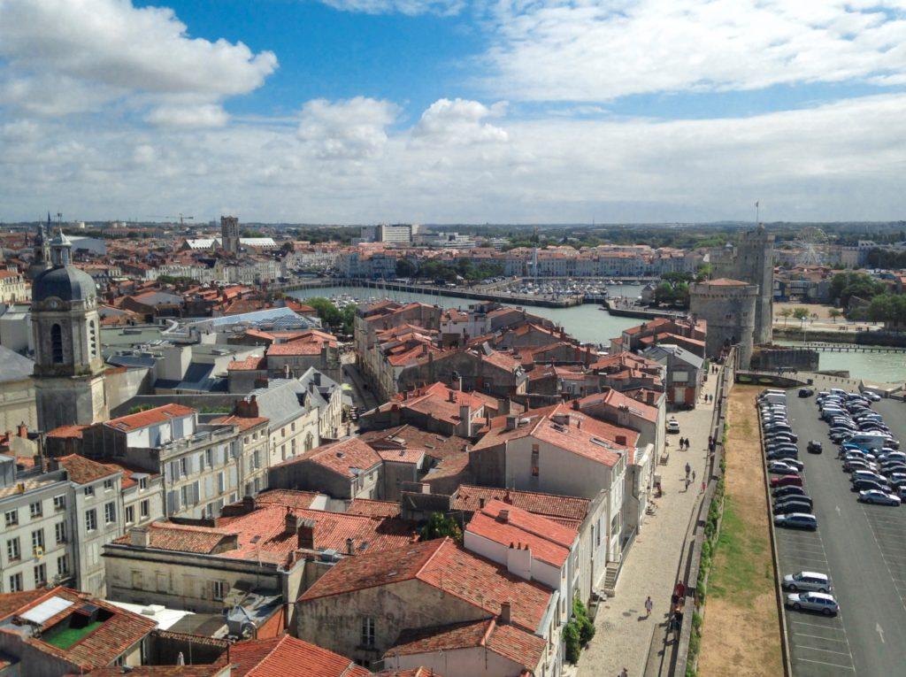Vue Tour de la Lanterne blog voyage les p'tits touristes la rochelle