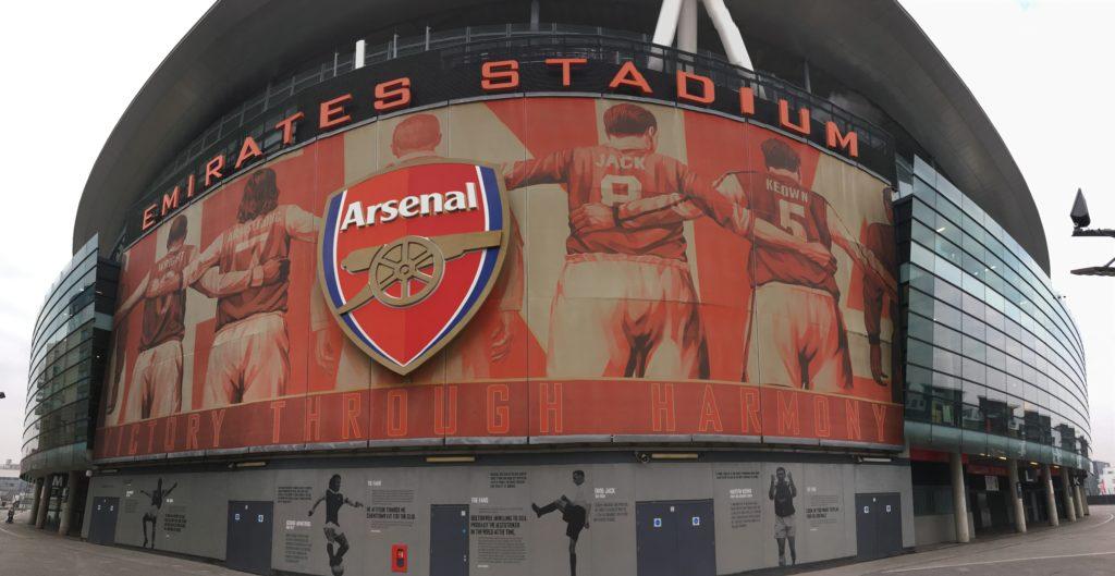 Emirates Stadium Arsenal football London Londres blog voyage les p'tits touristes