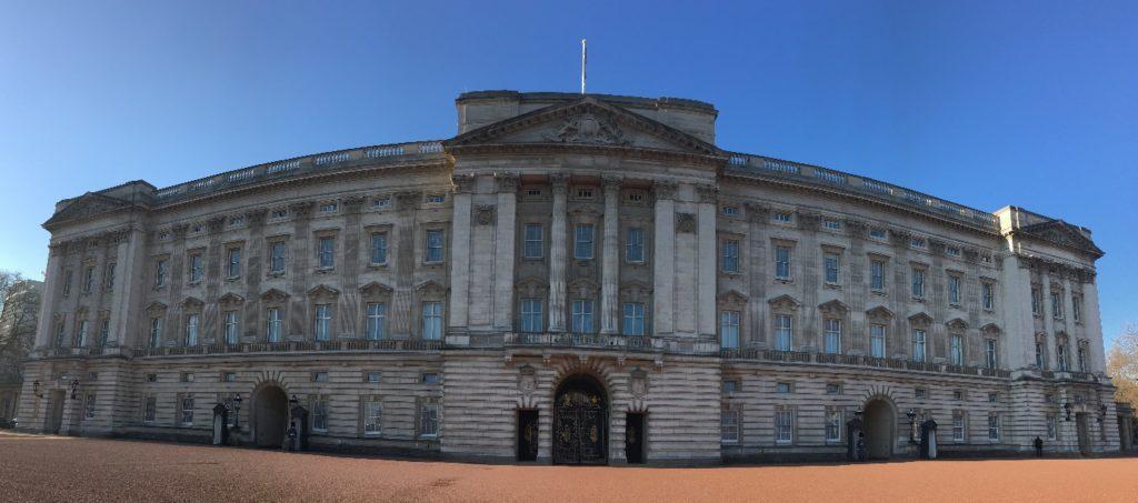 Buckingham Palace Londres blog voyage les p'tits touristes