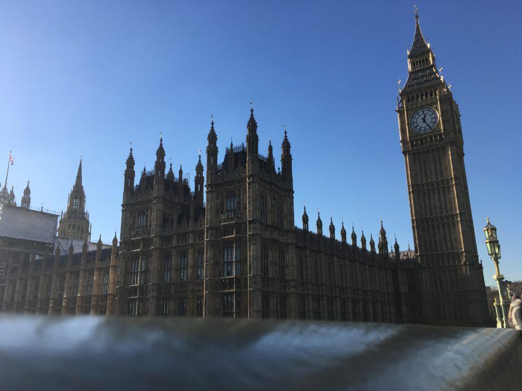 Big Ben Westiminster Londres blog voyage les p'tits touristes