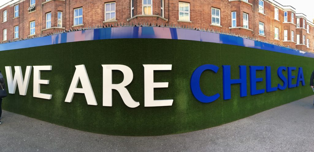 Stamford Bridge Chelsea London Londres blog voyage les p'tits touristes