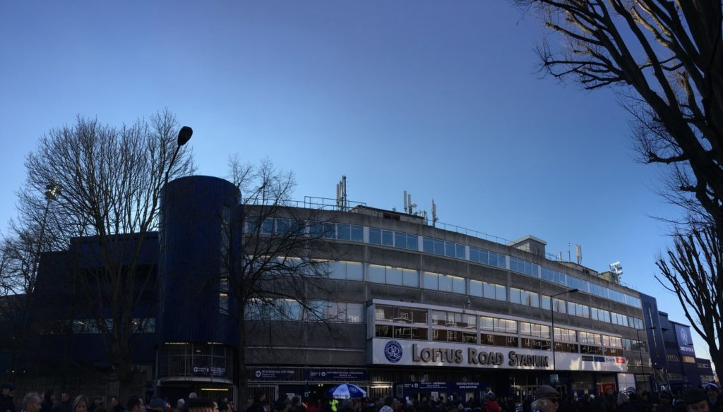 Loftus Road Stadium QPR Queens Park Rangers London Londres blog voyage les p'tits touristes
