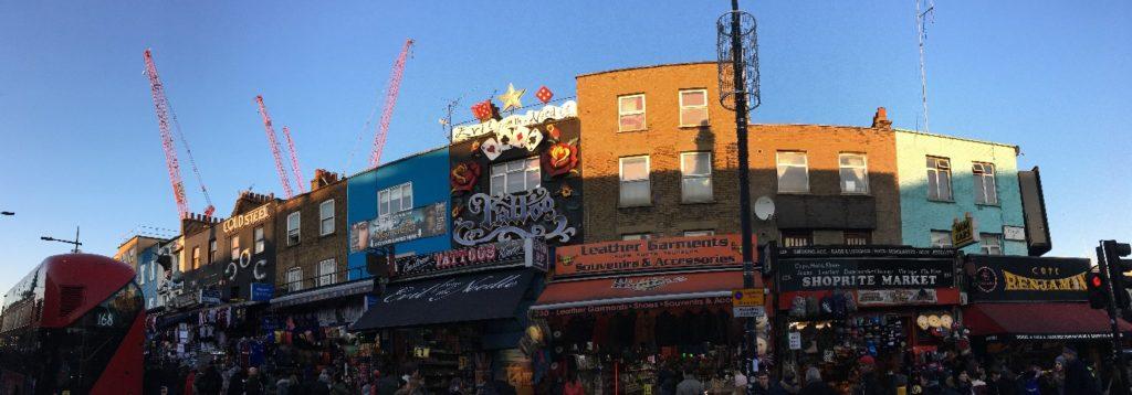 Camden London Londres blog voyage les p'tits touristes