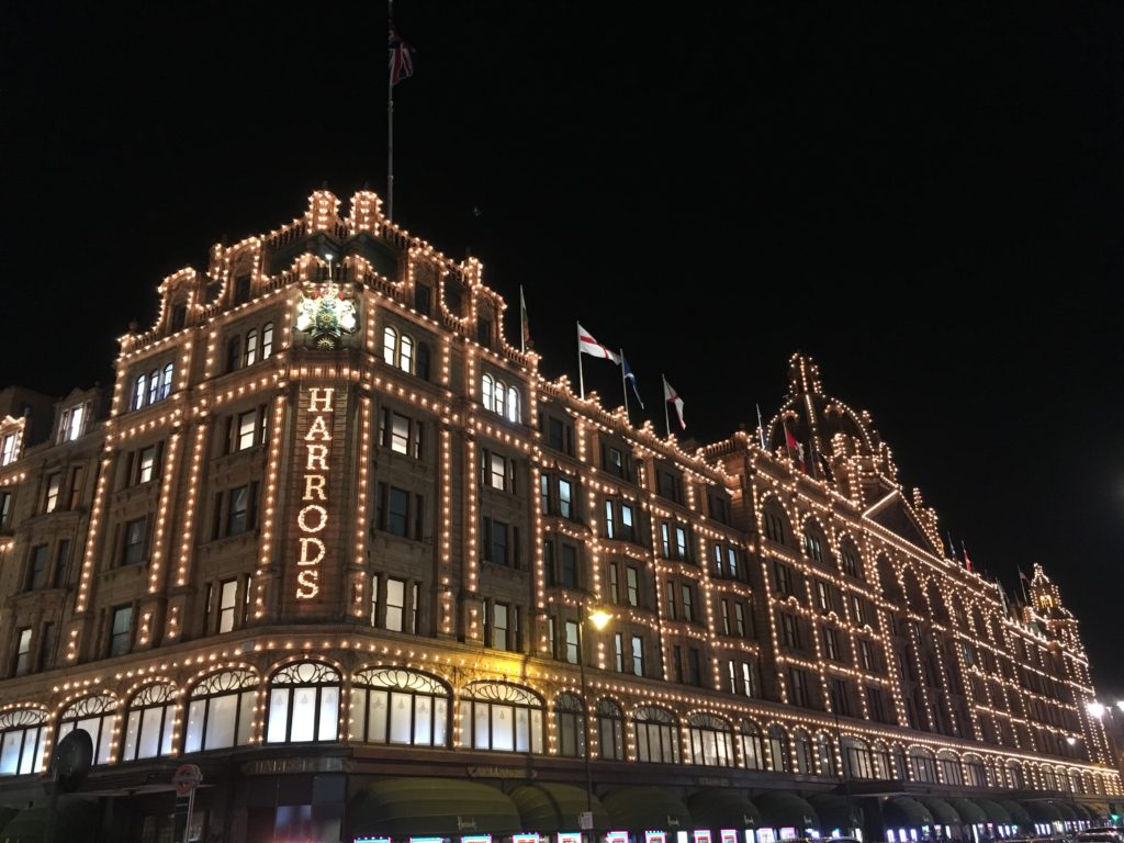 Harrods London Londres blog voyage les p'tits touristes