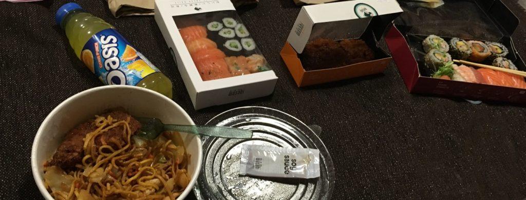 Wasabi repas London Londres blog voyage les p'tits touristes