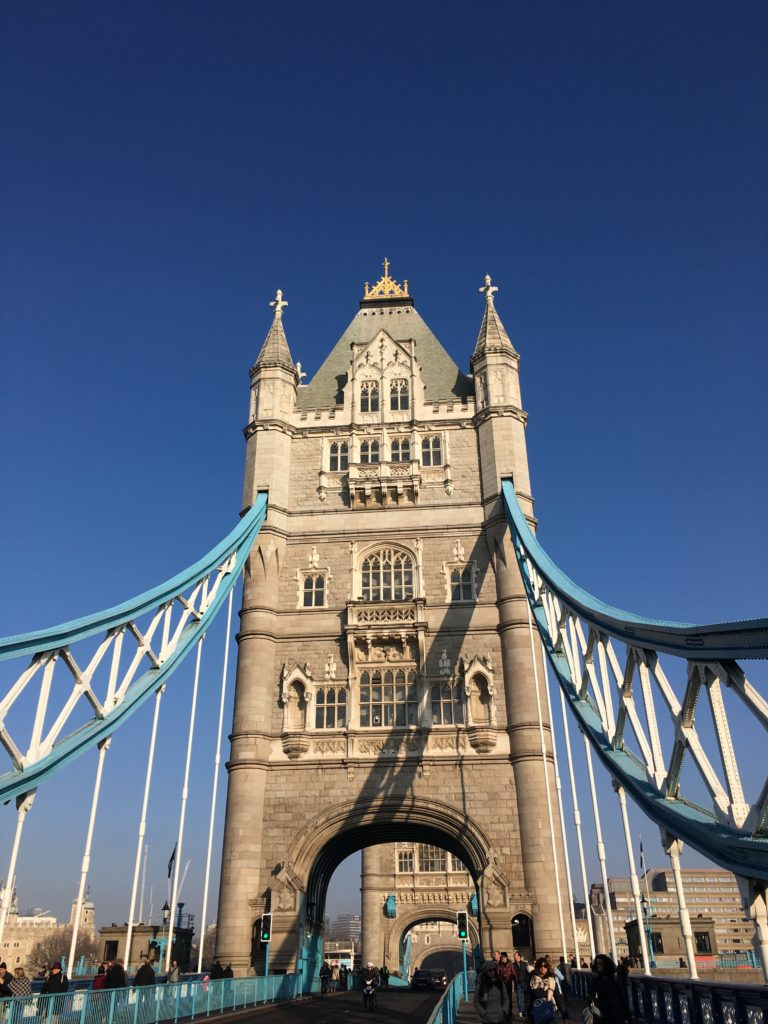 Tower Bridge London Londres blog voyage les p'tits touristes