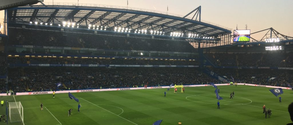Stamford Bridge Chelsea football London Londres blog voyage les p'tits touristes