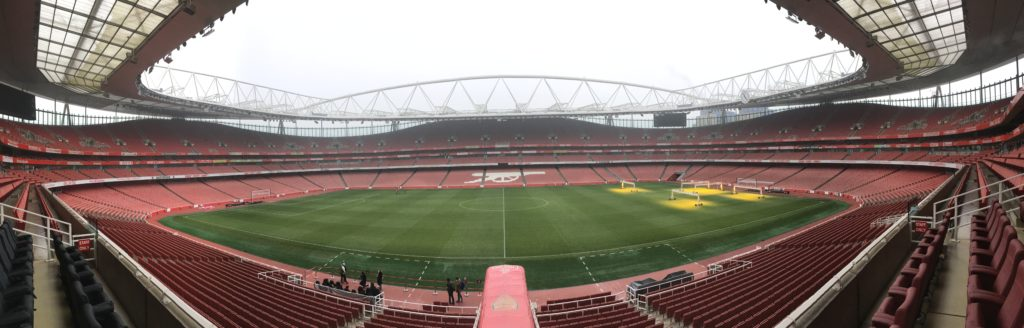 Emirates Stadium Arsenal London Londres blog voyage les p'tits touristes