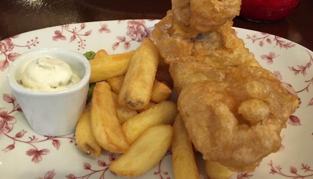 Fish & Chip's London Londres blog voyage les p'tits touristes