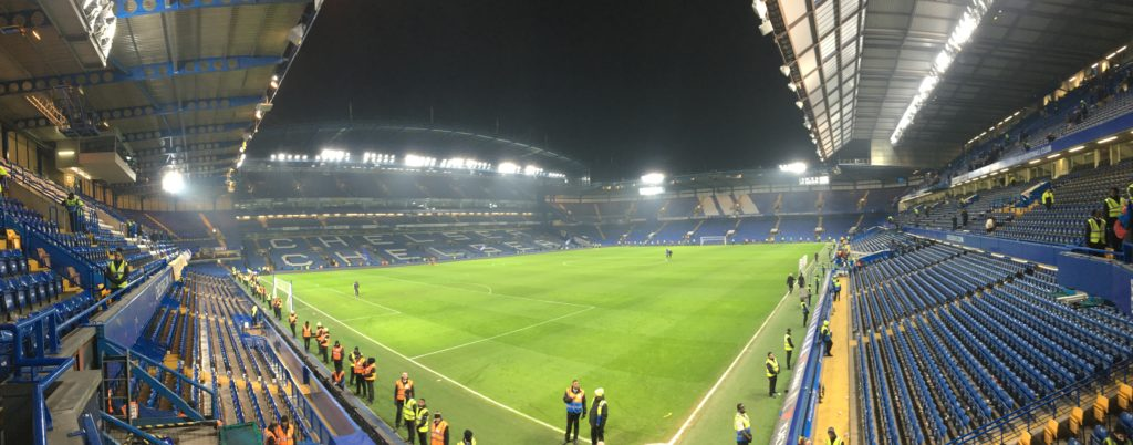 Chelsea Stamford Bridge panoramique stade stadium London Londres blog voyage les p'tits touristes
