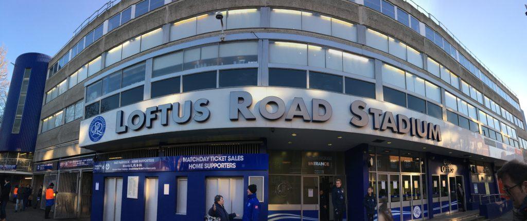 Loftus Road Stadium QPR Queens Park Rangers football London Londres blog voyage les p'tits touristes