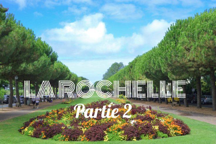 Allées du Mail La Rochelle blog voyage les p'tits touristes partie 2 carnet de bord
