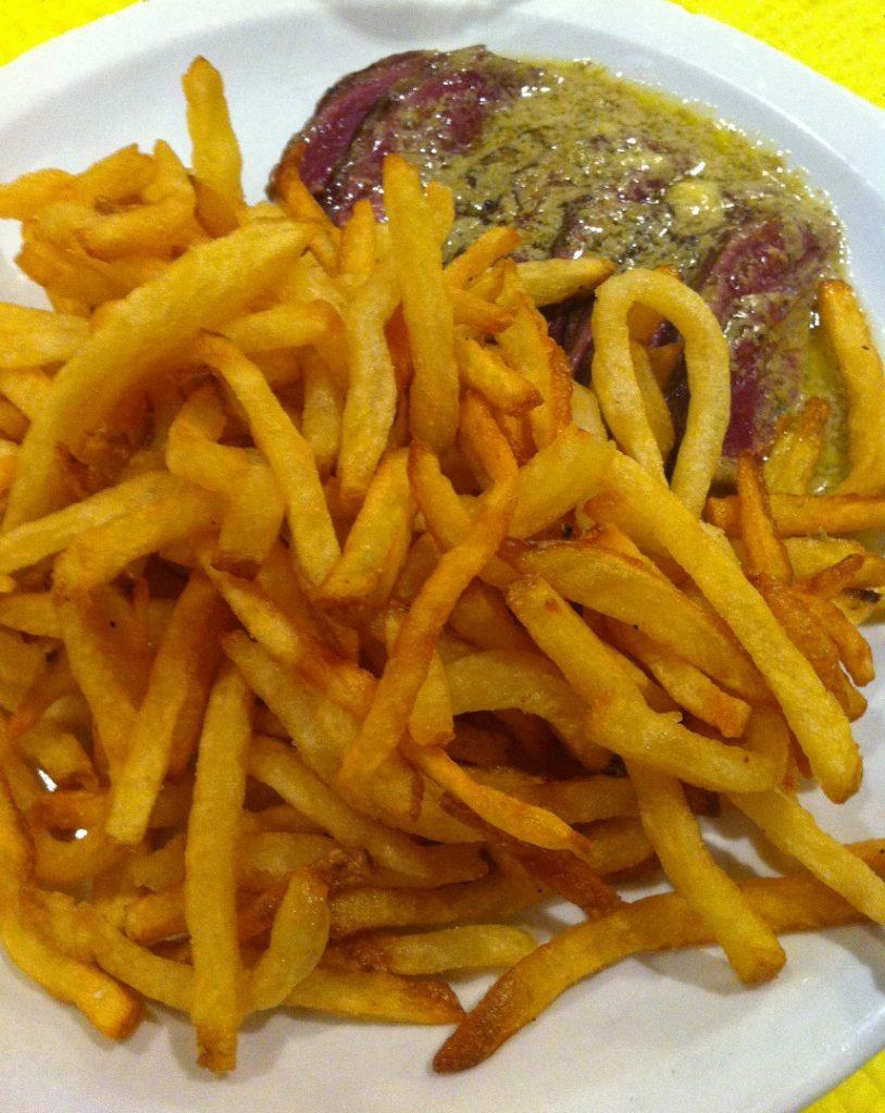 Où manger à Bordeaux blog voyage les p'tits touristes L'entrecôte