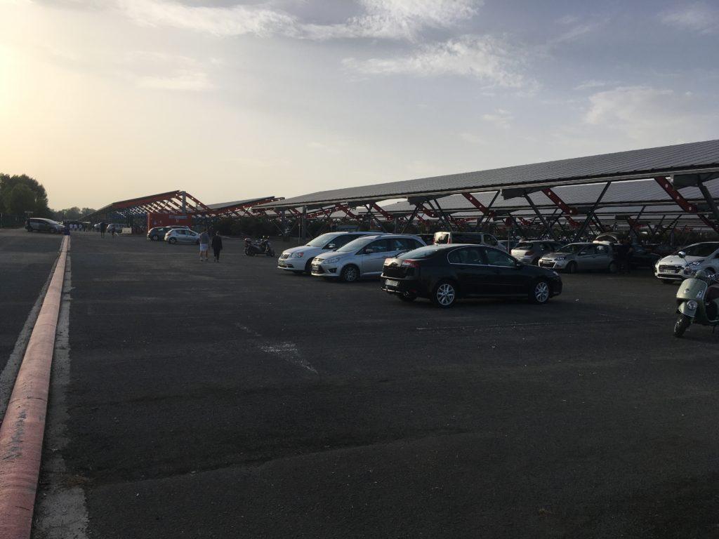 Matmut Atlantique parking parc des expositions Foot à Bordeaux girondins de Bordeaux blog voyage les p'tits touristes