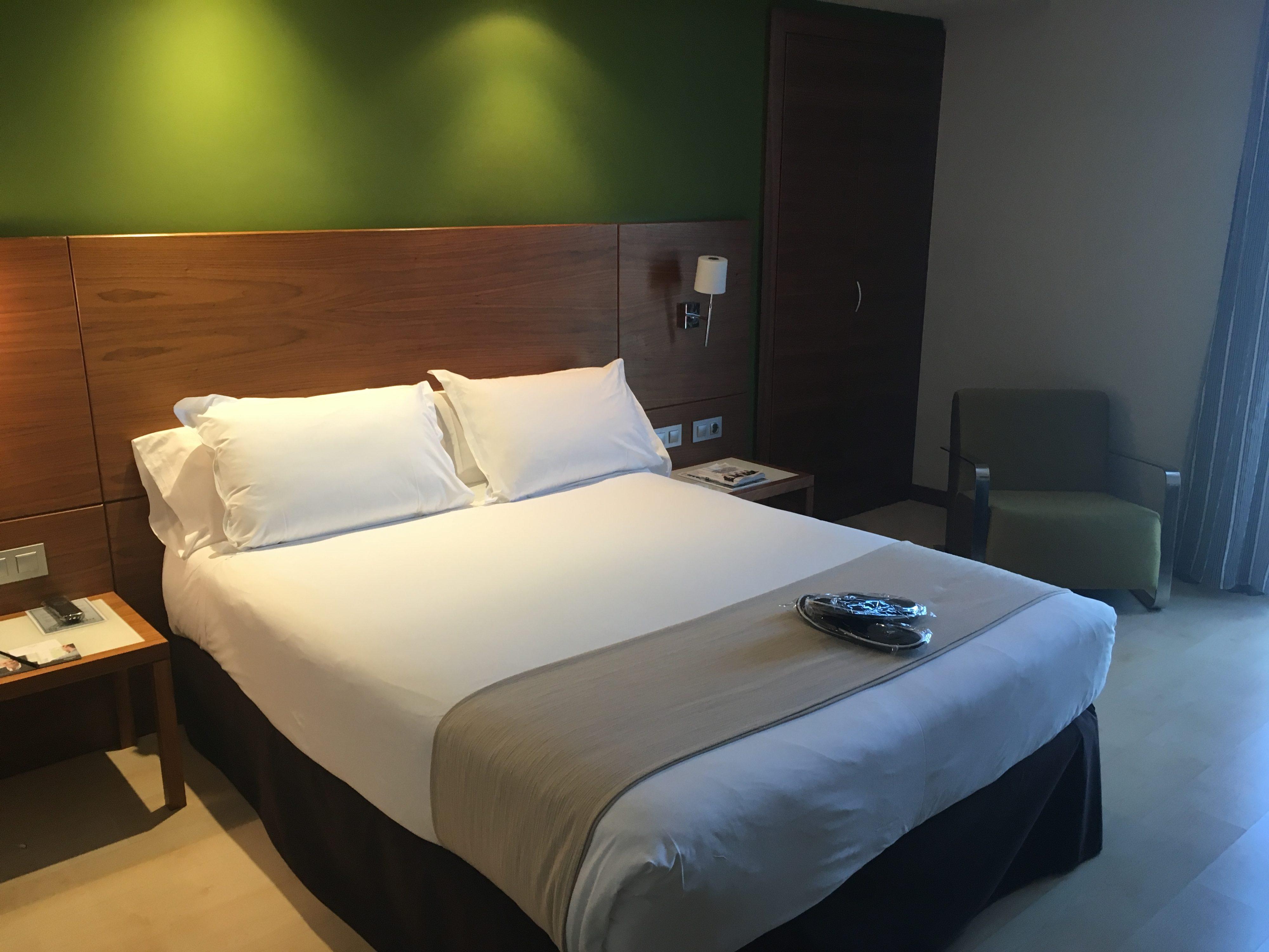 Hôtel Gran Bilbao séjour à Bilbao où dormir où se loger à Bilbao chambre Hotel Gran Bilbao - blog voyage les p'tits touristes (4)