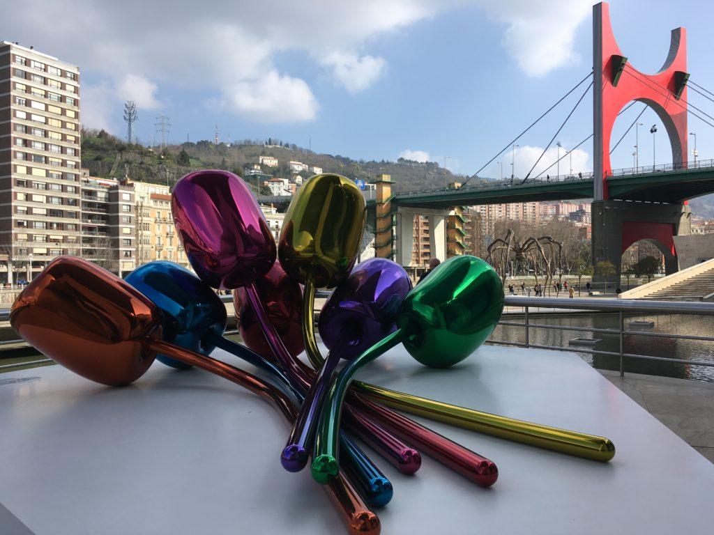 Quoi faire à Bilbao en 3 jours - Museo Guggenheim Bilbao Musée Guggenheim Bilbao quoi voir à Bilbao quoi faire à Bilbao Bilbao en 3 jours blog voyage les p'tits touristes