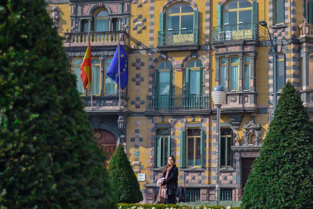 Quoi faire à Bilbao en 3 jours - Palacio Chavarri Bilbao Bilbao quoi faire à Bilbao quoi voir à Bilbao Bilabo en 3 jours blog voyage les p'tits touristes